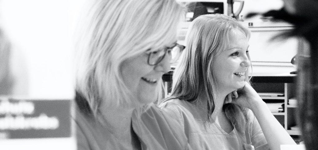 Anja Brinkhege und Mareike Hotfilter